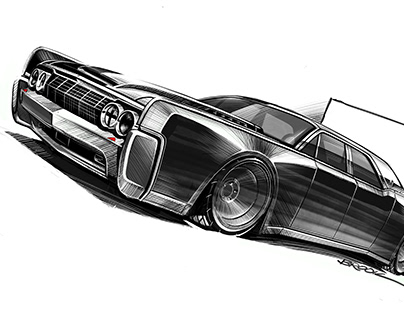Blown '63 Lincoln Continental