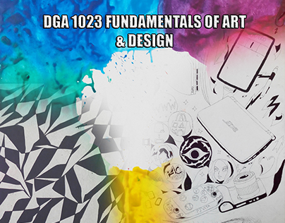DGA 1023 Fundamentals of Art by Kamil Hakimi