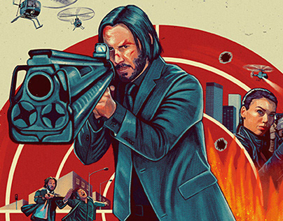 John Wick alternative posters