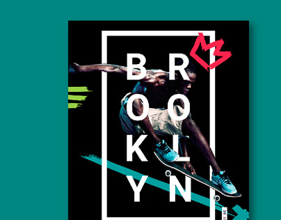 Logo design & branding for Sport shoes store *Brooklyn