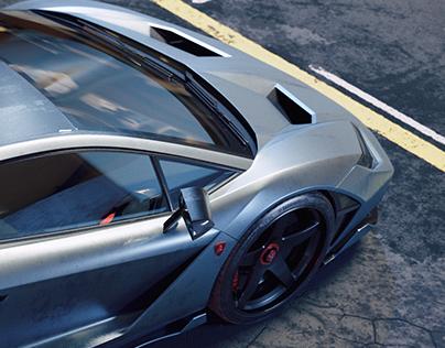 Centenario rear