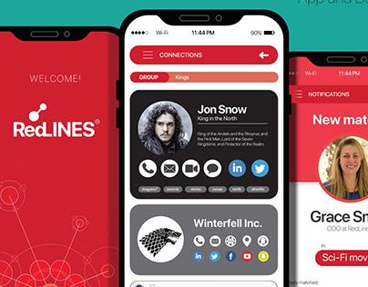 Product Design - UX/UI - RedLINES App.
