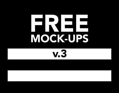 Free pack of mock-ups v3