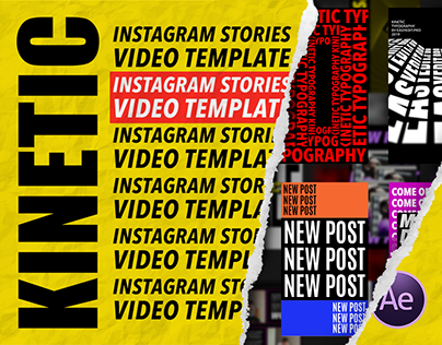 Kinetic Instagram Stories