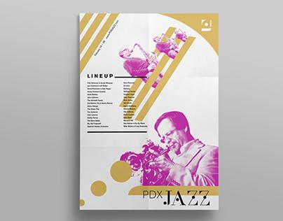 PDX Jazz Festival Identity
