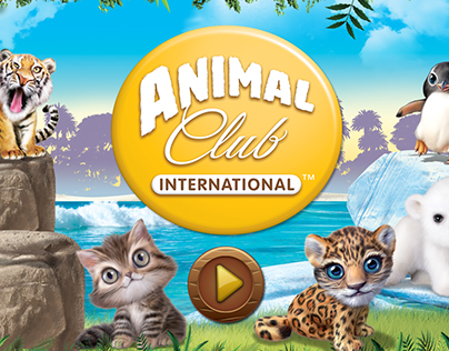Animal Club International Game UI