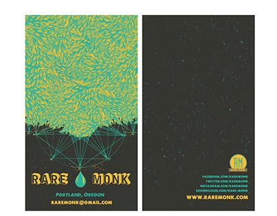 Rare Monk - Business Card