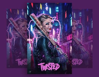 Harley Quinn Poster staring Alexa Bliss