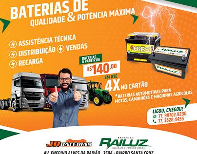 Banner JR Baterias