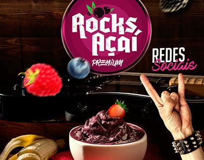 Rocks Açaí - Social Media