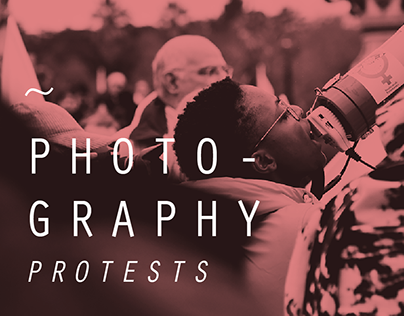 Protests photography