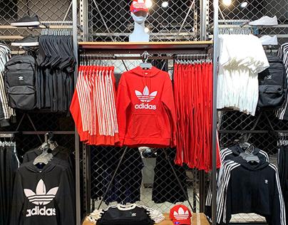 Adidas Visual Merchandising - Originals Line 2020