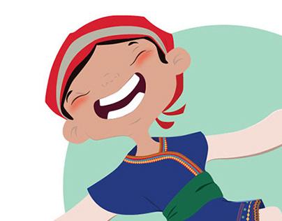 Character desing Kanya