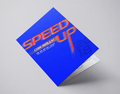 Desplegable Speed Up - Tipografía II UADE 2018