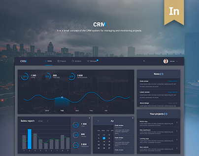 CRM - concept of the CRM system