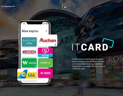 IT Card UI/UX App Design & Development