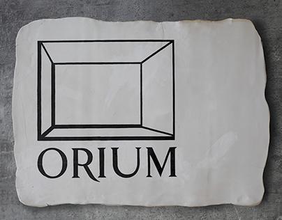 ORIUM EXHIBITION POSTER