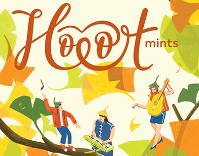 Hoot Mints - Packaging Design