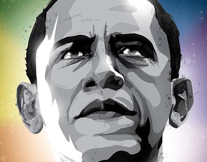 Barack Obama - Love Wins