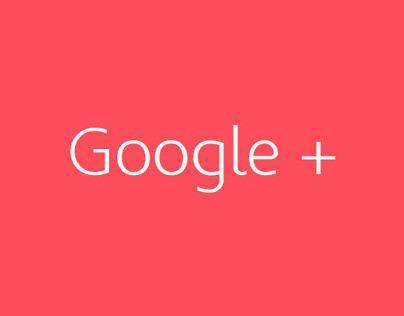 Google+ Redesigned Concept 2013