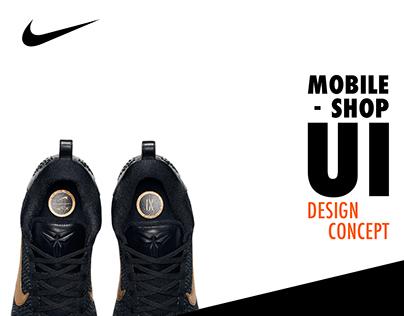 Nike Mobile Shop Ui Concept