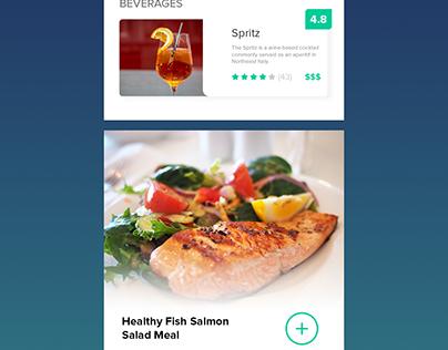 Fine Dining Restaurant Web App UI