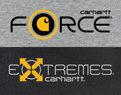 Carhartt Force & Extremes Logo/Branding Materials