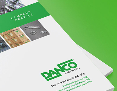 Danco Corporate Identity and Product Catalogs