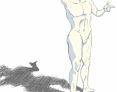 Male Digital Figure Drawing