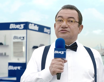 Gillette - Gillette Blue3 Ekonomisi / TVC