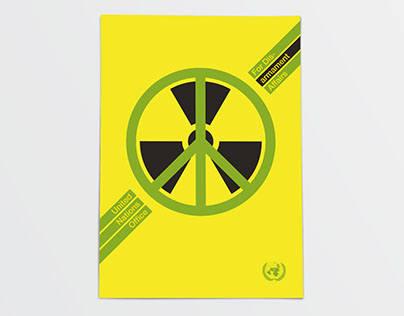 Propuesta de cartel por la Paz de las Naciones Unidas