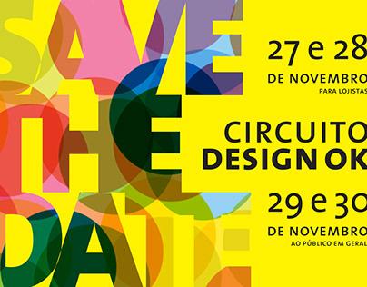 Convites e cartazes. Circuito Design Ok 2013
