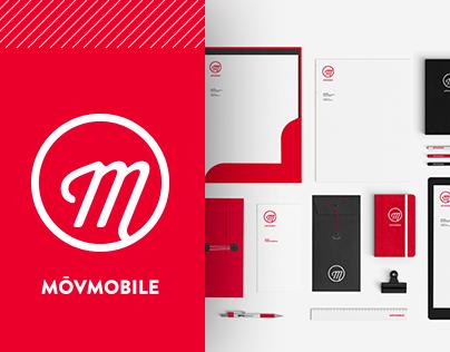 MōvMobile Logo & Identity