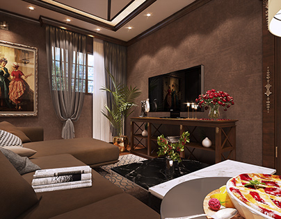 luxury living room ^__________^ .
