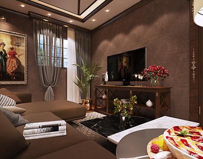 luxury living room ^__________^ .