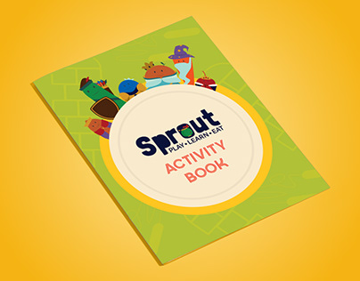 Sprout Children's Activity Book