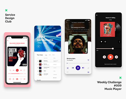 SDC Weekly Challenge #009 - Music Player