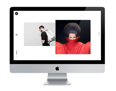 AETHER - Premium Portfolio / Agency Template
