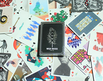 Wild Ducks Playing Cards 1st Edition