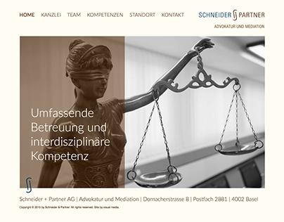 Website Schneider + Partner