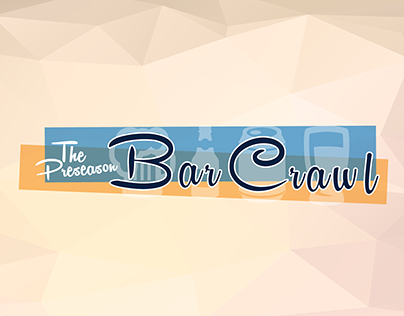 The Preseason Bar Crawl - Event Branding