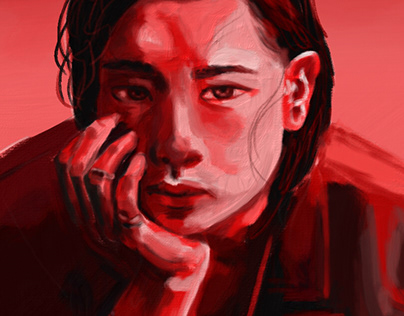 Red color study