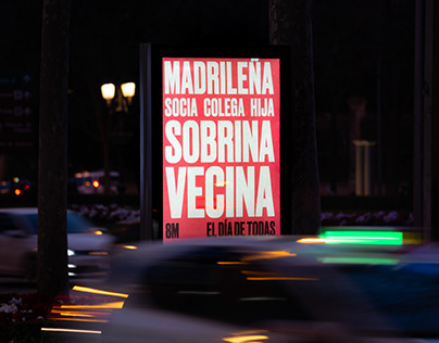 8M Madrid City Campaign