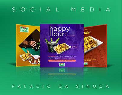 Palácio da Sinuca - Social Media