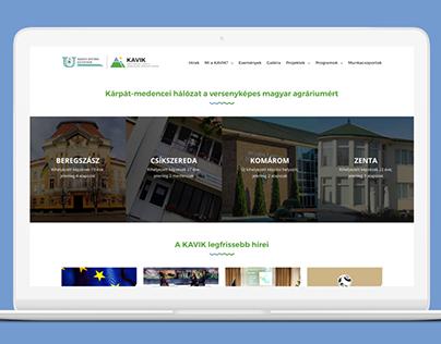 KAVIK - SZIE webdesign + build