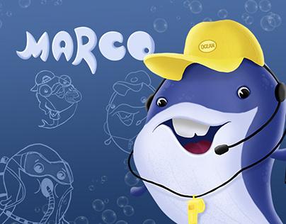 Разработка бренд персонажа для океанариума
