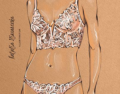 Illustrations for Intima Magazines