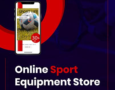 Online Sport Store