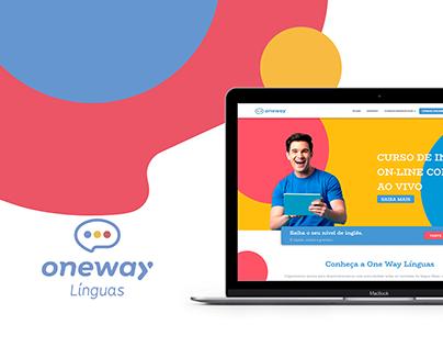 One Way Linguas - UI Design