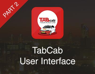 TabCab iOS User Interface (Part 2)